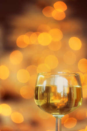 white wine: A glass of wine