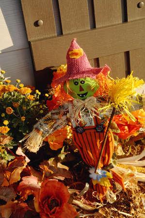 muz: Scarecrow Stock Photo