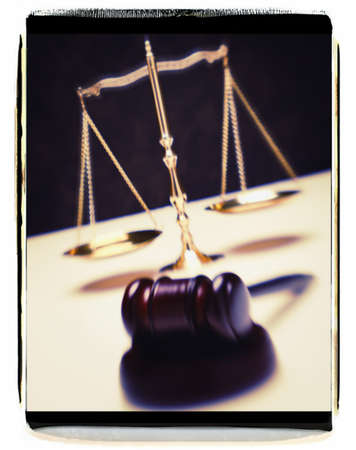 Balance in the justice system Stock Photo - 8241489