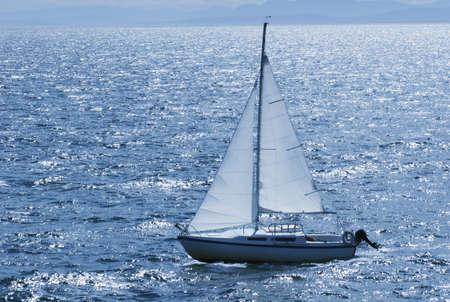 Sailing Foto de archivo