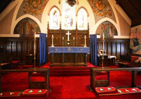 Alter van een kerk