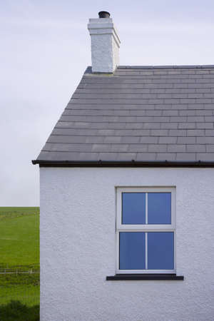 northern ireland: Exterior of a house Stock Photo