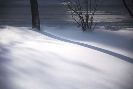 krebs: Winter scene Stock Photo