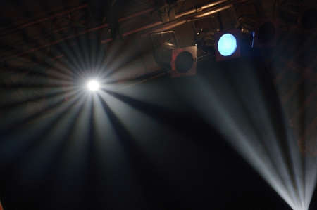 Stage lights Stock Photo - 8241806