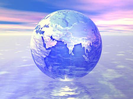 multinacional: Globo de 3D