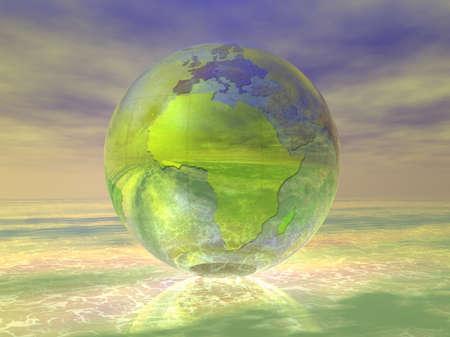 3D Globe Stock Photo - 8241759