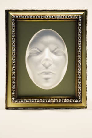 Mask in a picture frame Stock Photo - 8241969