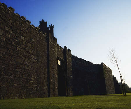 historical periods: Dublin, preserved stretch of the city wall, Cook Street, Ireland