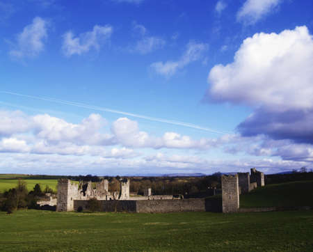 15th century: 15th Century fortified priory, Kells, Co Kilkenny, Ireland Stock Photo