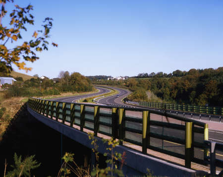 guardrails: Glanmire By-Pass, Co Cork, Ireland