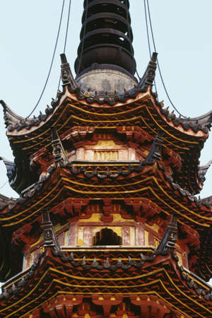 Detail of a pagoda in Suzhou, China Stock Photo - 8243545