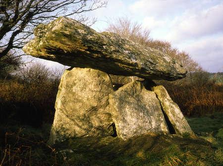 Gaulstown Dolmen, Tramore, Co Waterford, Ireland Stock Photo - 8243614