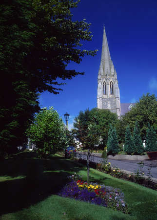 belief system: St. Eugenes Cathedral, Derry City, Ireland Stock Photo