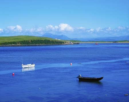 achill: Co Mayo, Achill Sound, Croagh Patrick, Ireland