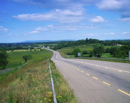 Road near Annaduff Co Leitrim, Ireland Stock Photo - 8242210