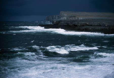 aran islands: Islas de Irlanda, las islas Aran, Inishmore, Irlanda  Foto de archivo