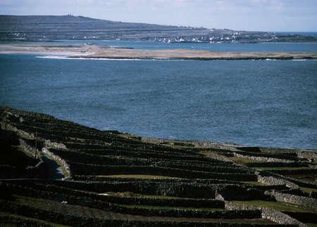 aran islands: Aran Islands, Inishmaan, Ireland Stock Photo