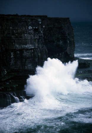 Aran Islands, Dun Aengus, Inishmore, Verenigd Konink rijk Stockfoto