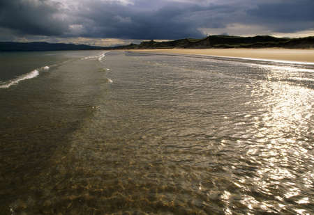 lochs: Co Derry, Lough Foyle, Ballymaclary Beach, Ireland Stock Photo