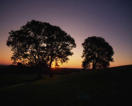 Sunset at Navan Fort, Co Armagh, Ireland Stock Photo - 8241889