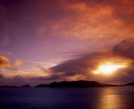 Blasket Islands, Great Blasket, Ireland Stock Photo