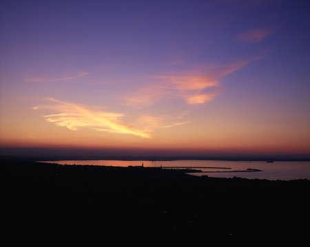 Sunset, Dun Laoghaire, Co Dublin, Ireland Stock Photo - 8241408