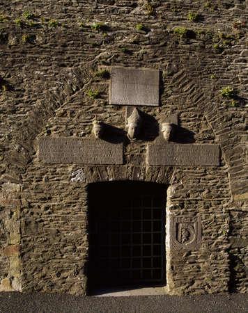 Co Meath, medieval church tower, Ceanannus Mor (Kells), Ireland Stock Photo - 8244036
