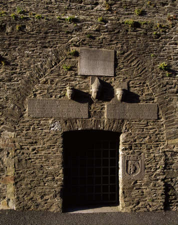 friaries: Co Meath, medieval church tower, Ceanannus Mor (Kells), Ireland