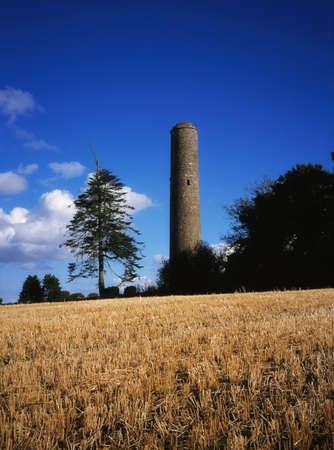Donaghmore Round Tower, Navan, Co Meath, Ireland Stock Photo - 8243456