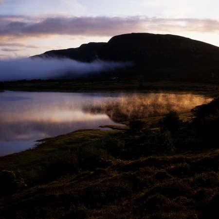 Co Mayo, Beltra Lough, Nephin Beg Mountain range, Ireland
