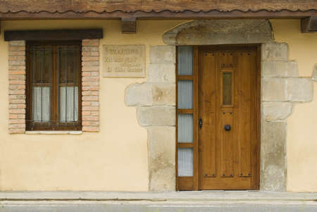 cantabrian: Cantabrian house, Rioseco, Northern Spain