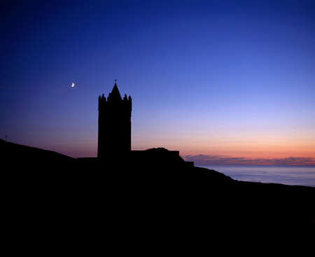 Doonagore Castle, Doolin, Co Clare, Ireland Stock Photo - 8241533