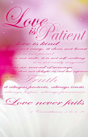 Love is patient Stock Photo - 8241798