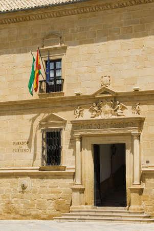 Parador Nacional del Conde Stable Dávalos, Úbeda, Andalusia, Spain Stock Photo - 8243272
