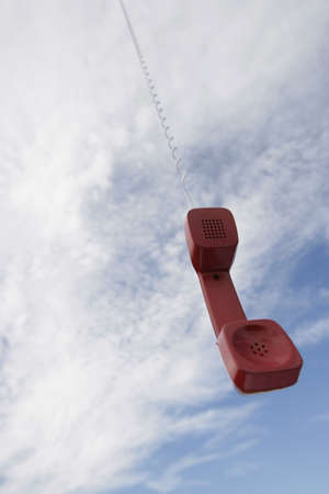 compilations: A telephone receiver dangling from the sky