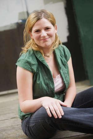 twentysomething: Donna sorridente