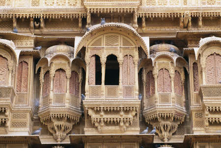 Patwon ki Haveli, Jaisalmer, Rajasthan, India Stock Photo - 8243883