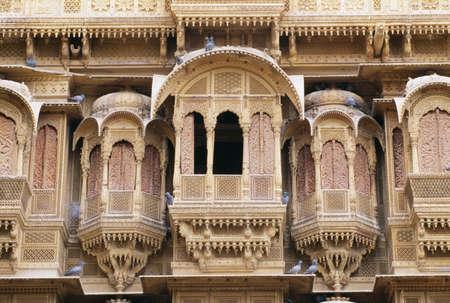 Patwon ki Haveli, Jaisalmer, Rajasthan, India Stock Photo - 8243883