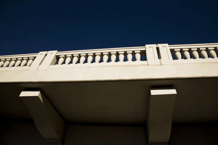 Balustrades on bridge, Calgary, Alberta, Canada Stock Photo - 8241595