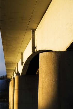 tanasiuk: Underside of bridge, Edmonton, Alberta, Canada