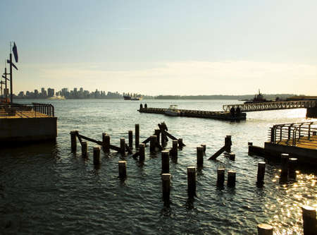 lonsdale: Dock in North Vancouver