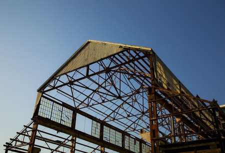 lonsdale: Frame of a building Stock Photo