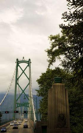 Lions Gate Bridge, North Vancouver, BC photo