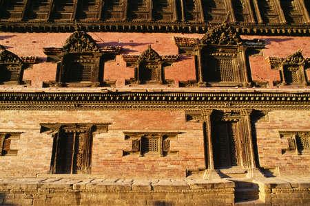 Façade of the Royal Palace, Bhaktapur, Nepal Stock Photo - 8243900