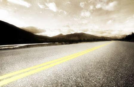 sepias: Road