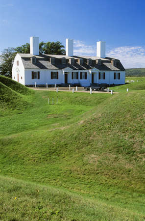 Fort Anne National Historic Park, Annapolis Royal, Nova Scotia, Canada Stock Photo - 8243844