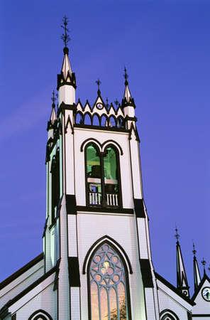 Historic Saint John's Anglican Church, Lunenburg, Nova Scotia, Canada Stock Photo - 8243592