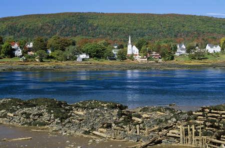 Annapolis River, Annapolis Royal, Nova Scotia, Canada photo