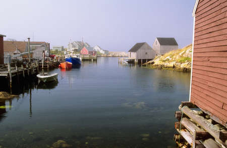 scotia: Fishing village of Peggys Cove, Nova Scotia, Canada