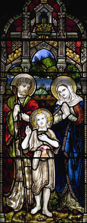 panoramics: Stained glass window